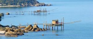 Il Trabocco, antica macchina da pesca