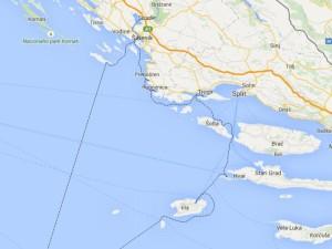 Fantaroutes in Dalmatia